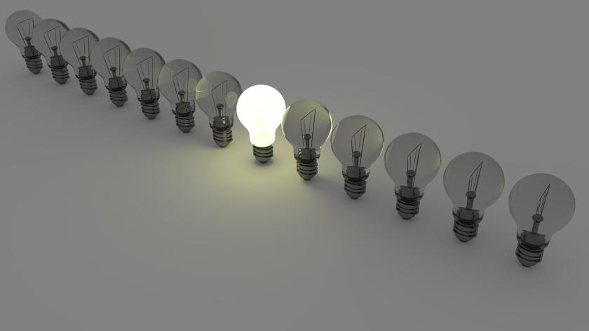 Different Lit Light Bulb - Pixabay